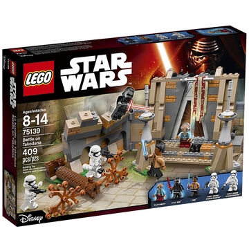 Lego Star Wars - Battle on Takodana