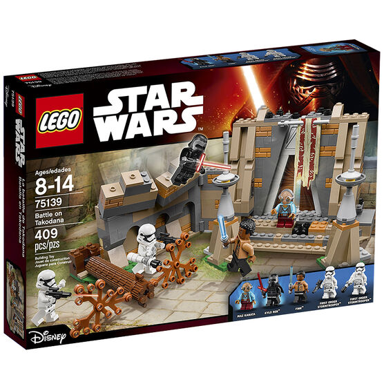 Lego Star Wars - Battle on Takodana