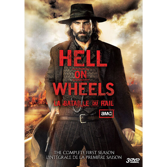 Hell On Wheels - Season 1 - DVD