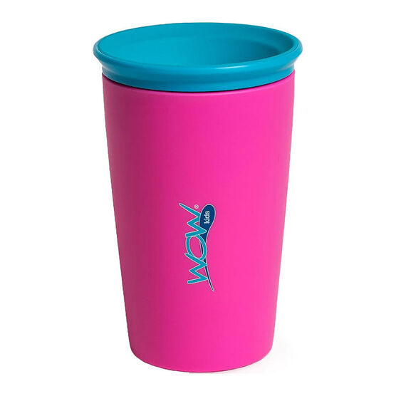 Wow Kids Drinking Cup - Pink - 266ml