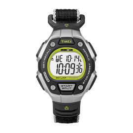 Timex Ironman 30 Lap Mid Size Watch - Black/Lime - TW5K89800GP