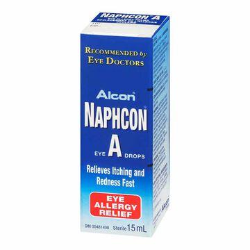 Alcon Naphcon-A Eye Drops - 15ml