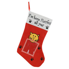 Christmas Forever Pet Stocking - Cat - XM-US1508