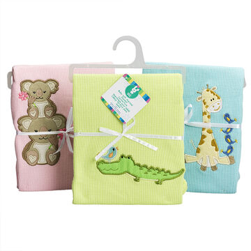 Honey Bunny Baby Soft Thermal Blanket - Assorted