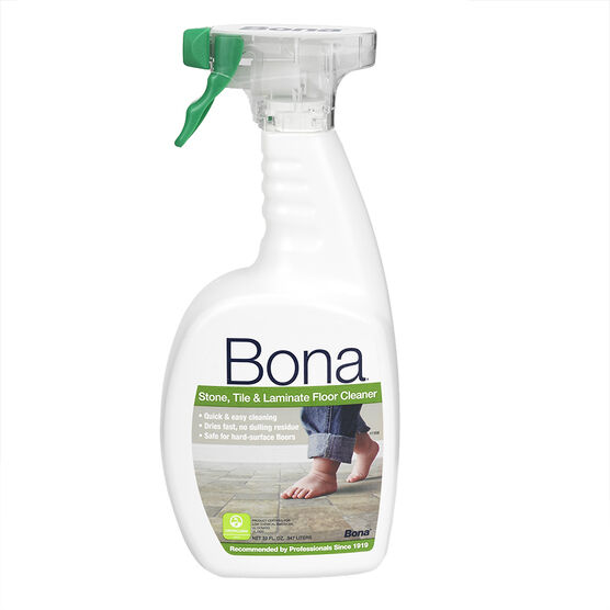 Bona has long been considered one of the best specialty floor cleaners on the market, and it's not hard to see why. The Bone Stone, Tile and Laminate Floor Cleaner is a versatile product, formulated for non-wax sealed flooring systems like ceramic, natural stone, terrazzo and marble.