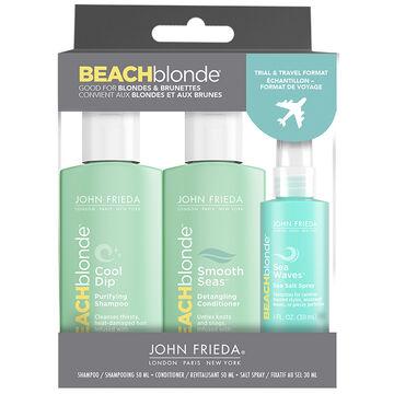 John Frieda Beach Blonde Trial and Travel Trio