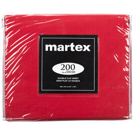 Martex Flat Sheet - Double - Assorted