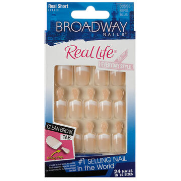 Broadway Nails Real Life French Nails - Sensible