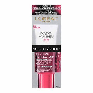 L'Oreal Youth Code Texture Perfector Pore Vanisher Cream - 40ml
