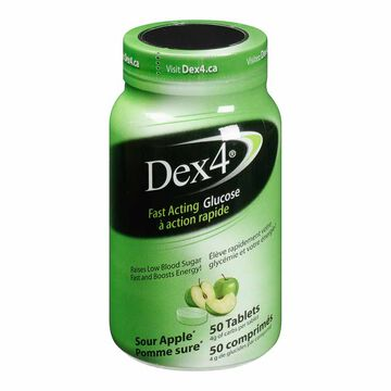 Dex4 Glucose Tablets - Sour Apple - 50's