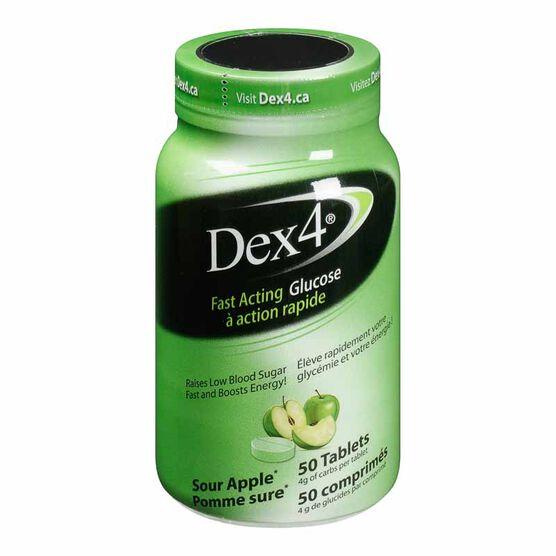 Dex4 Glucose Tablets - Sour Apple - 50's