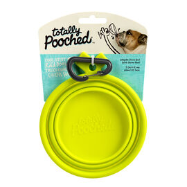 Totally Pooched Collapsible Bowl - Green - TP031G