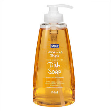 London Drugs Dish Soap - Clementine Ginger - 750ml