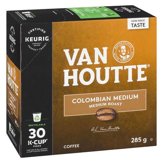 K-Cup Van Houtte Colombian Coffee Pods -  Medium - 30's