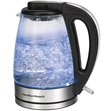 Hamilton Beach 1.7L Glass Kettle - 40865C