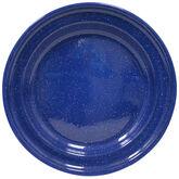 Enamel Camping Plate - Blue - 076665