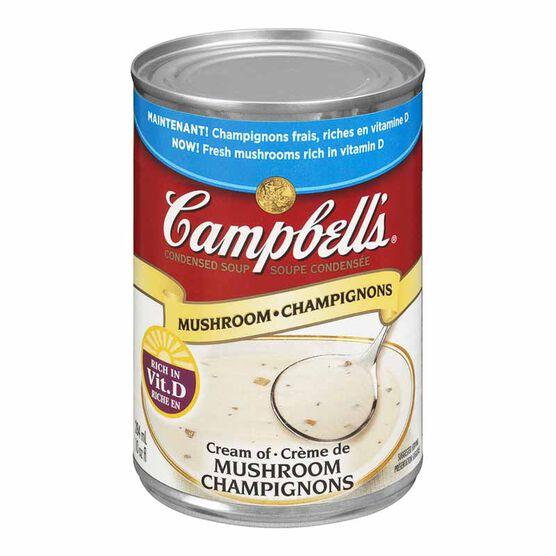 Campbell 39 S Soup Cream Of Mushroom 284ml London Drugs