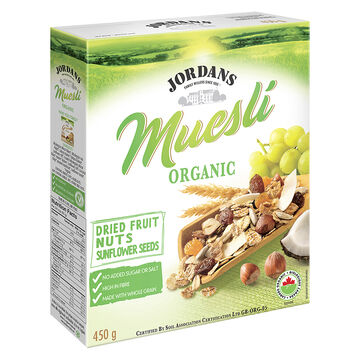 Jordans Muesli Granola - Dried Fruit and Nuts - 450g