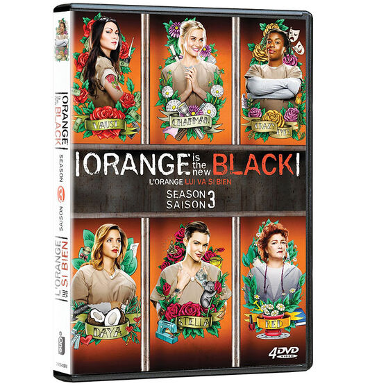 Orange Is The New Black: Season 3 - DVD