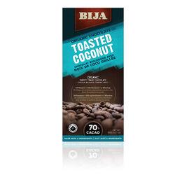 Bija Organic Chocolate - Toasted Coconut - 90g