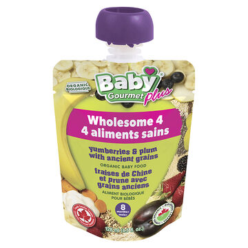 Baby Gourmet Baby Food - Yumberries & Plum - 128ml