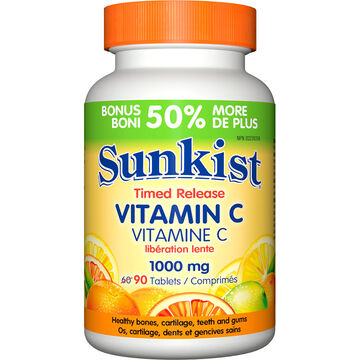 Sunkist Timed Release Vitamin - 1000mg - 60's