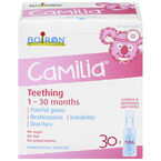 Boiron Camilia Teething Pain Relief - 30 x 1ml
