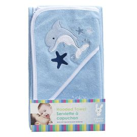 Honey Bunny Baby Hooded Towel - Assorted