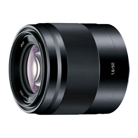 Sony E-mount 50mm F1.8 Lens - Silver - SEL50F18