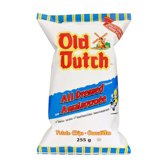 Old Dutch Potato Chips - All Dressed - 255g