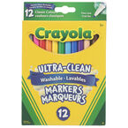 Crayola Washable Original Fine Line Markers - 12 pack