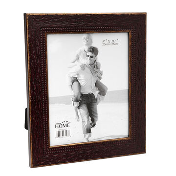 London Home Picture Frame - Weathered Wood - 8x10in