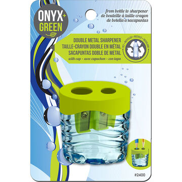 Onyx Green Double Sharpener