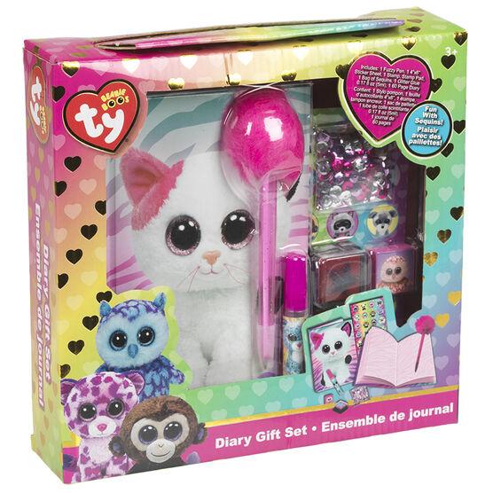 TY Beanie Boos Diary Gift Set