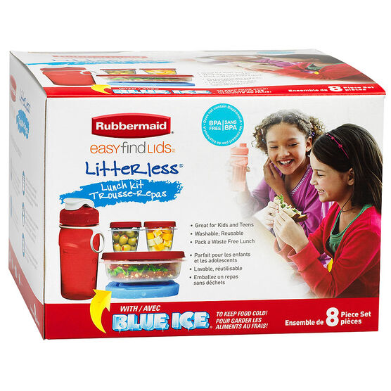 Rubbermaid Litterless Lunch Kit - With 14oz Bottle
