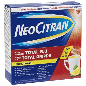 Neo Citran Ultra Strength Total Flu Day - 10's