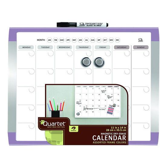 Board Dudes Dry Erase Calendar - 11 x 14 inch - Assorted
