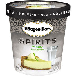 Haagen Dazs Spirits - Vodka Key Lime Pie - 475ml