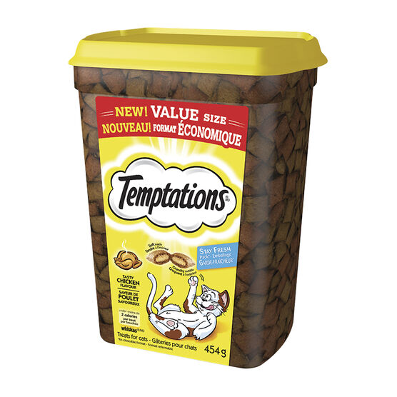 Whiskas Temptations Cat Treats - Tasty Chicken - 454g