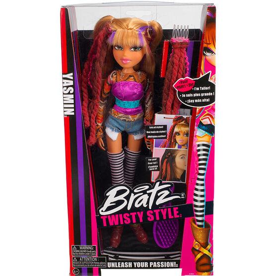 Bratz Twisty Style Doll - Assorted