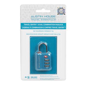 Austin House Combination Lock - Assorted