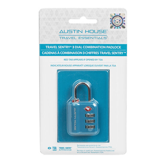 Austin House Combo Lock - Assorted - AH22A101