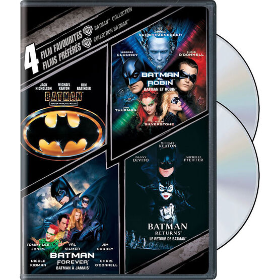 4 Film Favourites: Batman Collection - DVD