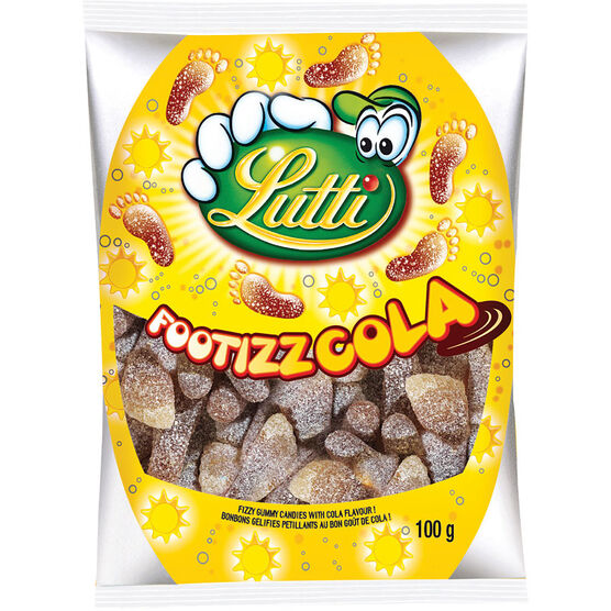 Lutti Footizz Cola Candy - 100g