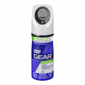 Speed Stick Gear Deodorant Body Spray - Fresh Force - 113g