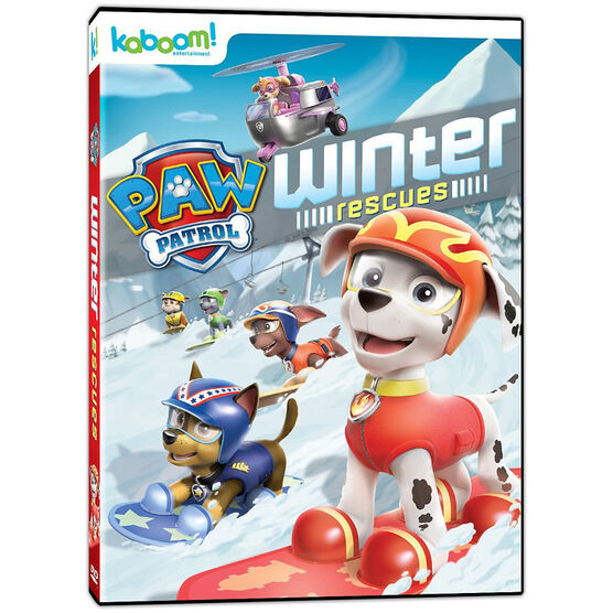 PAW Patrol: Winter Rescues - DVD