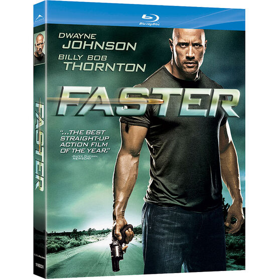 Faster - Blu-ray