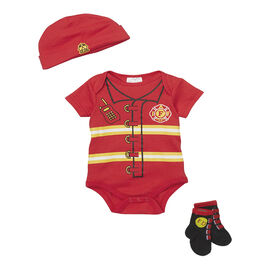 Baby Mode Firefighter 3-Piece Onesie Set - 7756 - Assorted