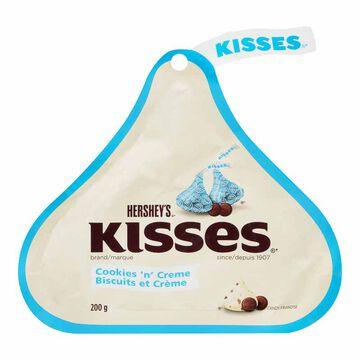 Hershey Kisses - Cookies & Cream - 200g