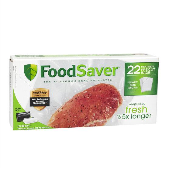 FoodSaver Vacuum Bags - 8 x 11inch